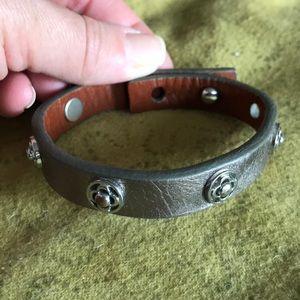 Stella and Dot leather bracelet